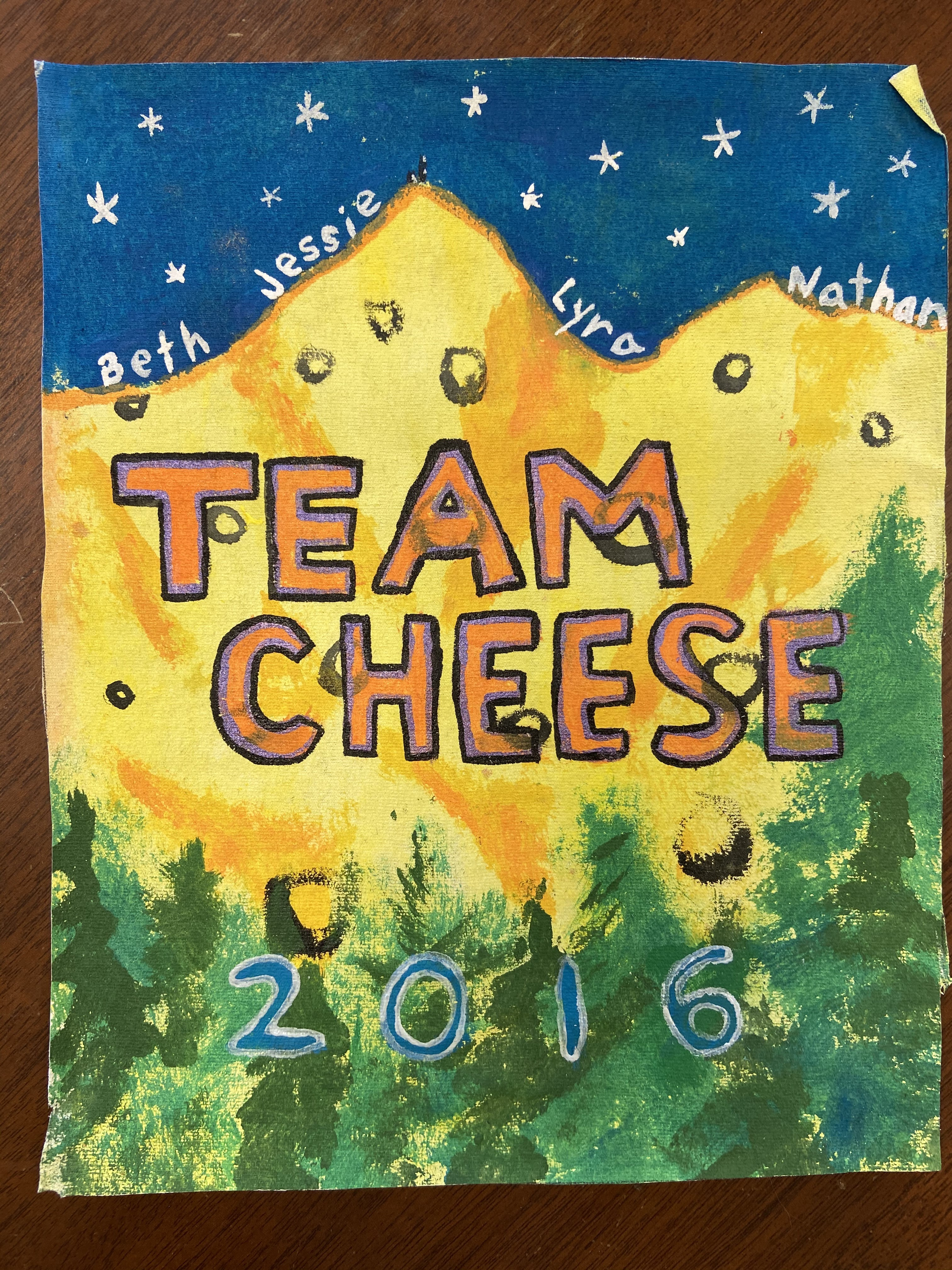 16_Team Cheese