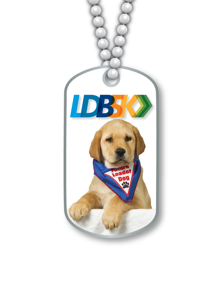 LDB5K Dog Tag