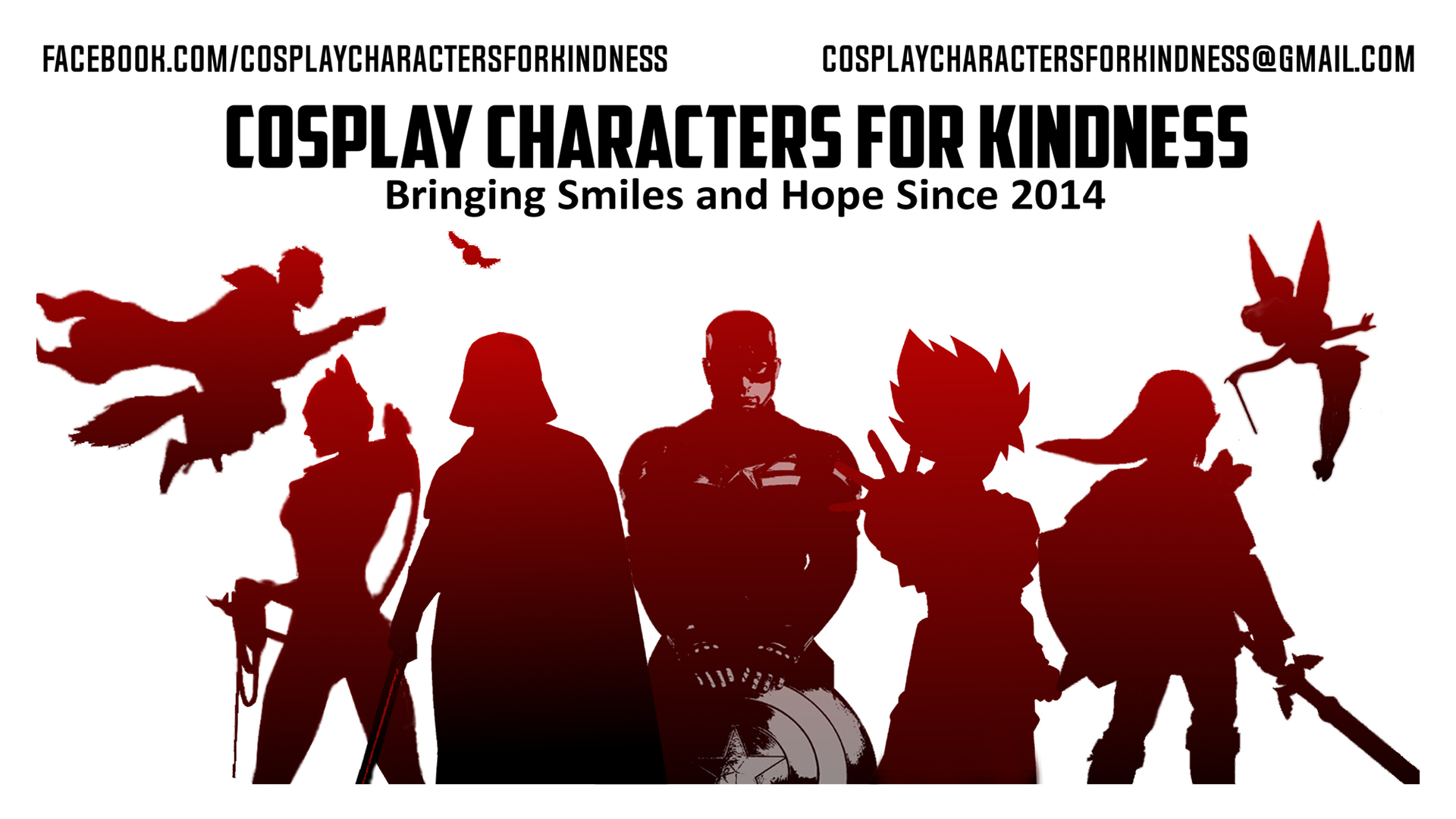 Cosplay Characters For Kindness