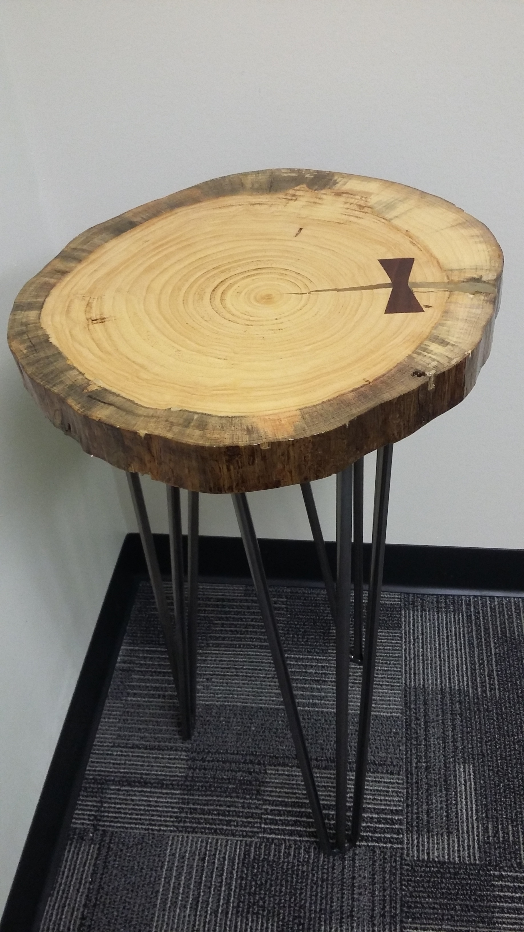 In memory of our Angel Natalie Marcella Wiegman  - Handmade - Table - by Ed Wiegman