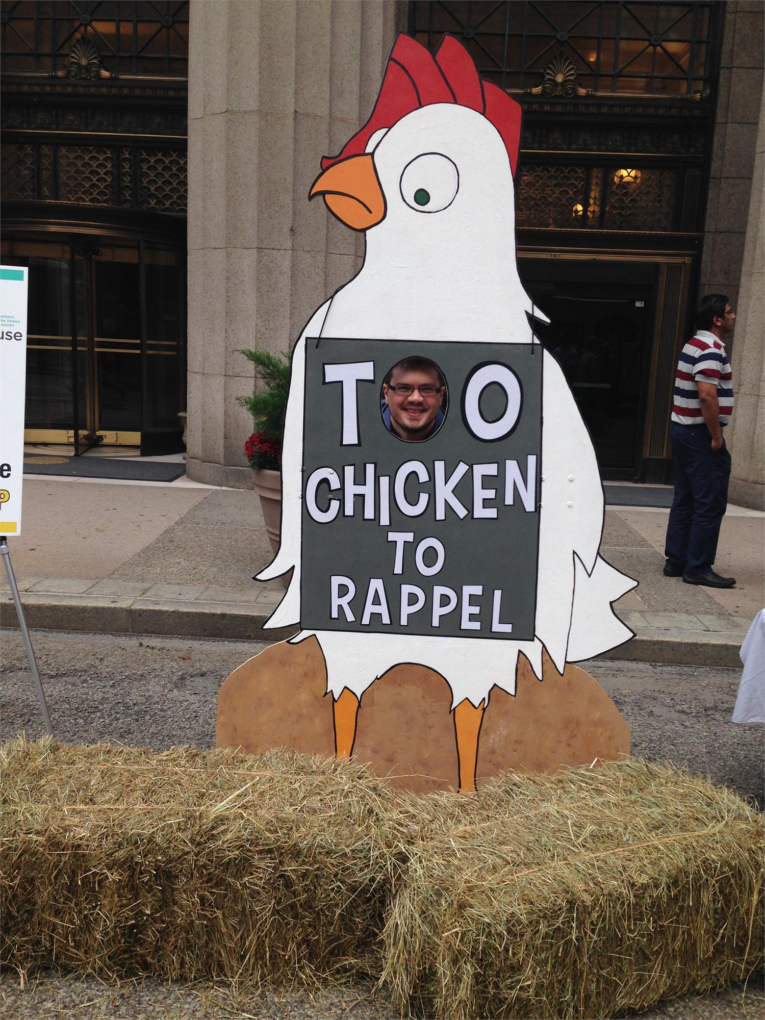 Too Chicken to Reppel?