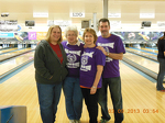 our 2013 Bowl for Kids Sake team