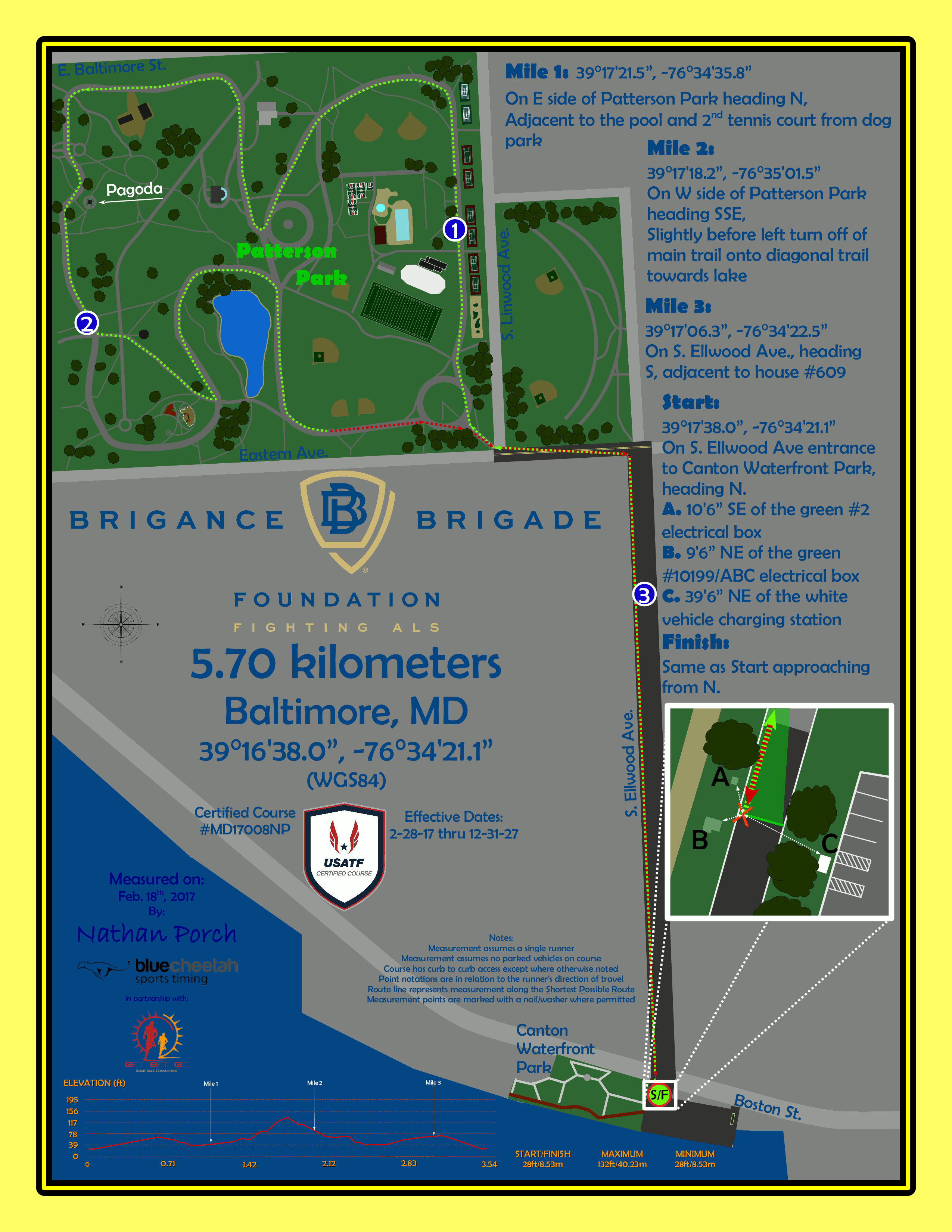 5.7K Course Map