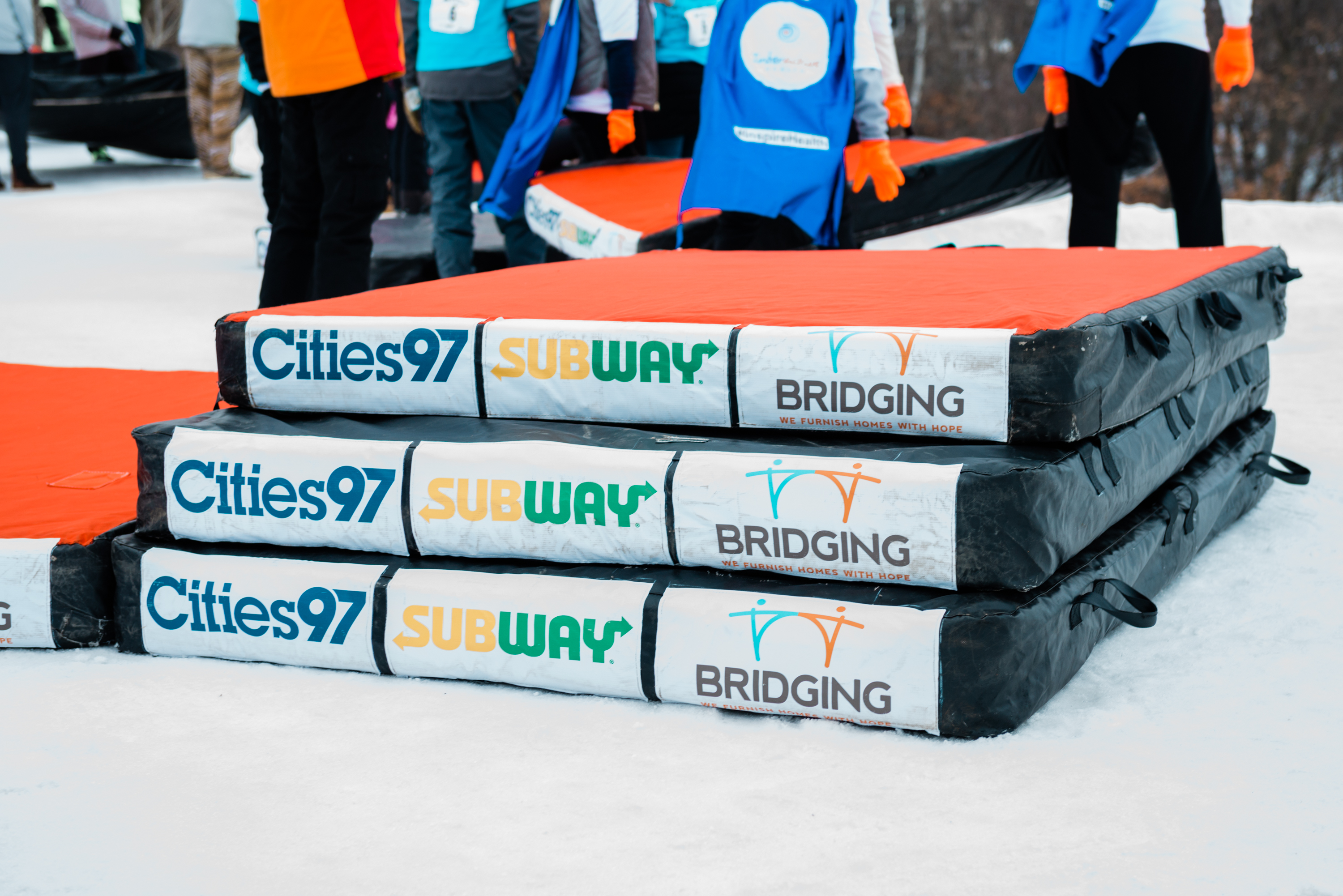 Subway Bedrace for Bridging, presented by Cities 97!