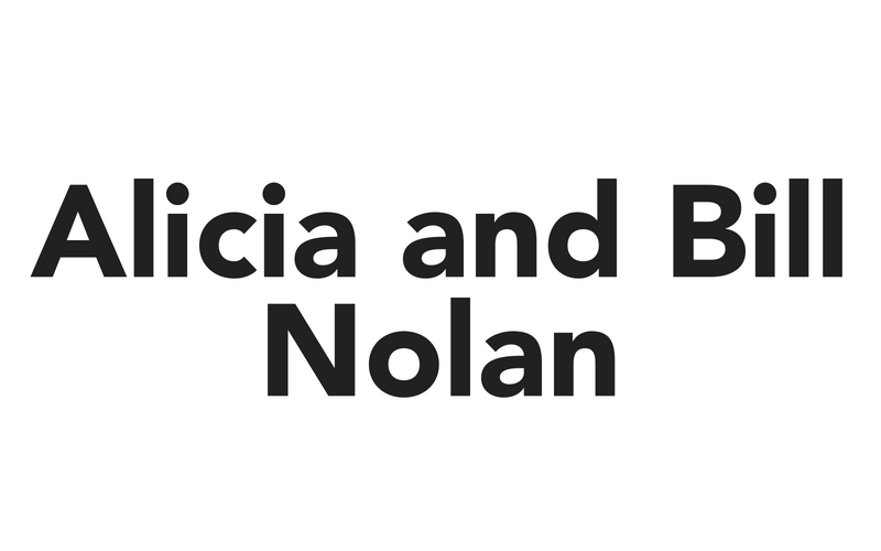 Alicia and Bill Nolan