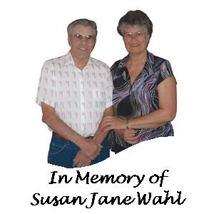 In Memory of Susan Jane Wahl from Carold Wahl