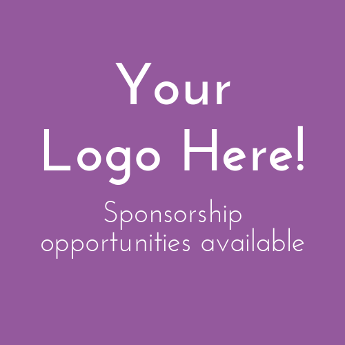 Your logo here! Sponsorship opportunities available