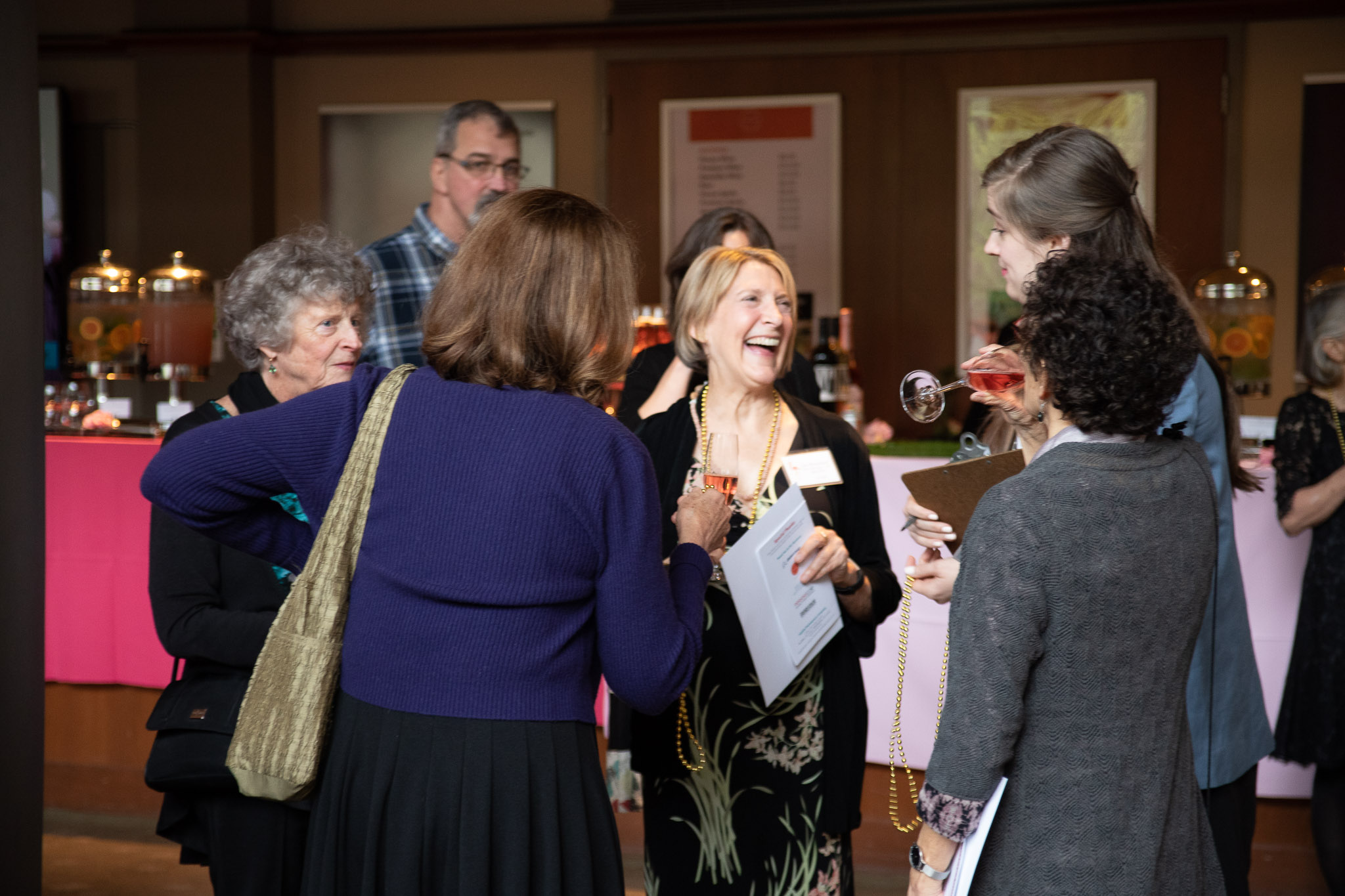 Board and community members enjoy Bill's Bash, photo by John Cornicello