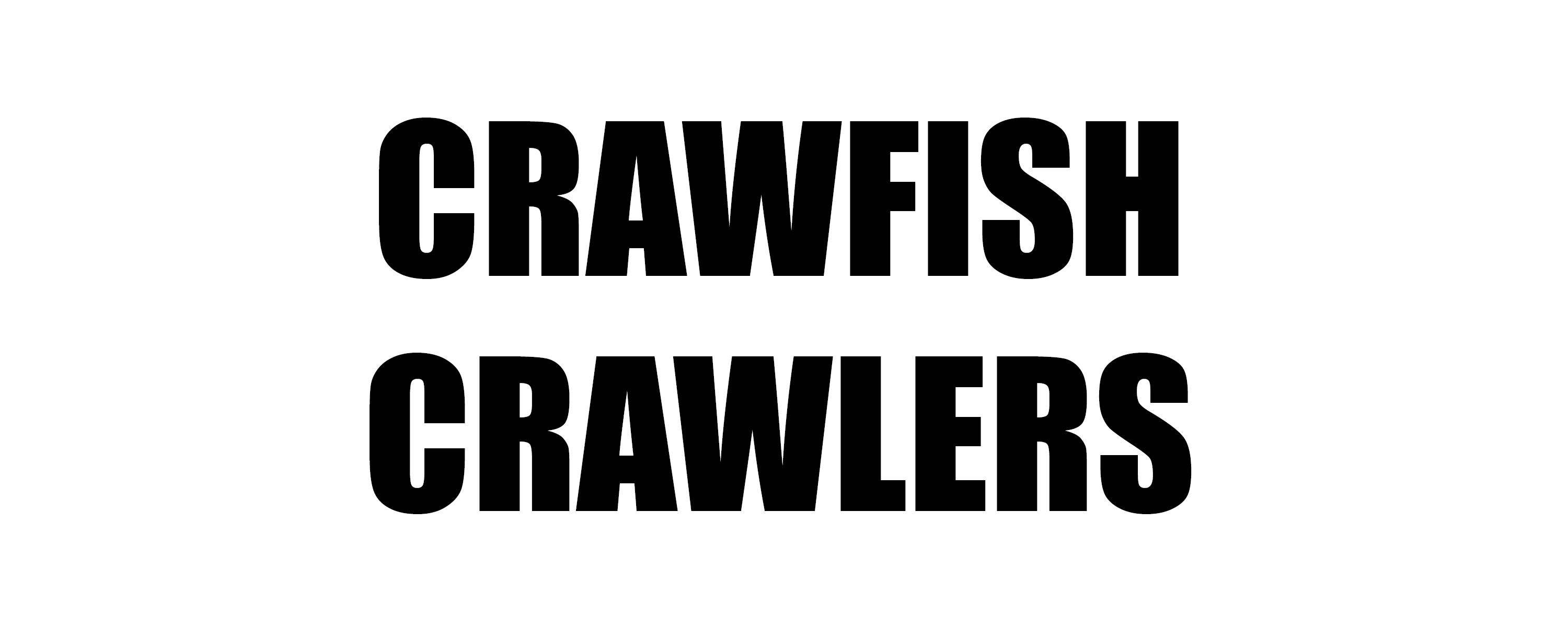 Crawfish Crawlers