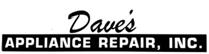 Dave's Appliance Repair Inc.