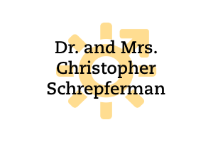 Dr. and Mrs. Christopher Schrepferman
