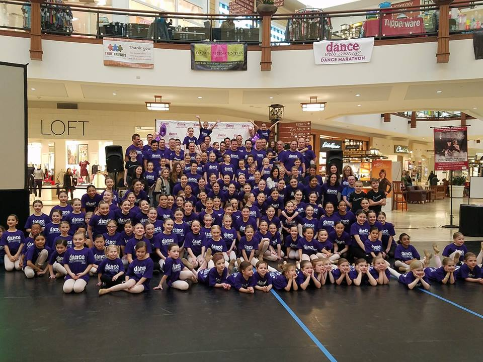 Dance with Courage 2018 group photo