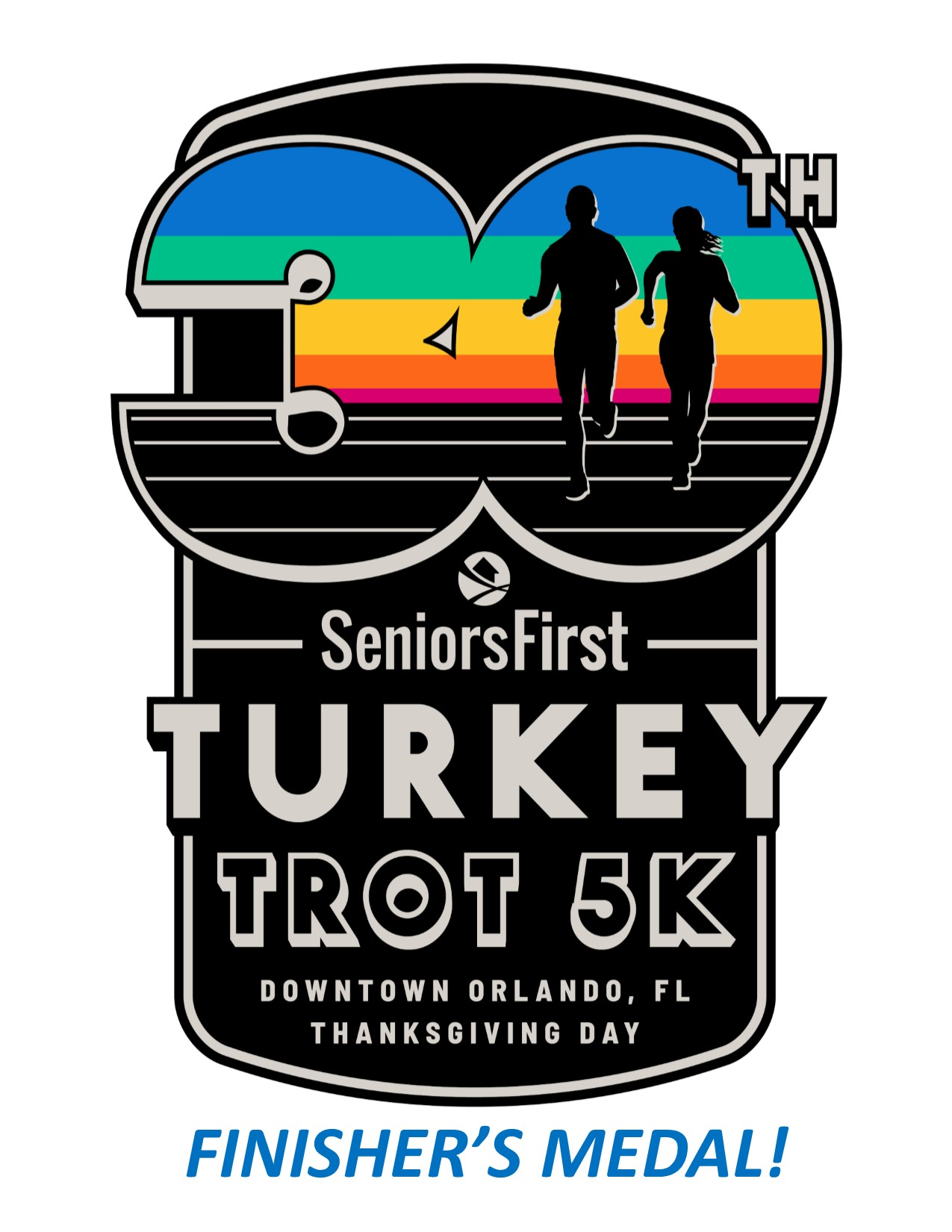 Seniors First Turkey Trot 5k