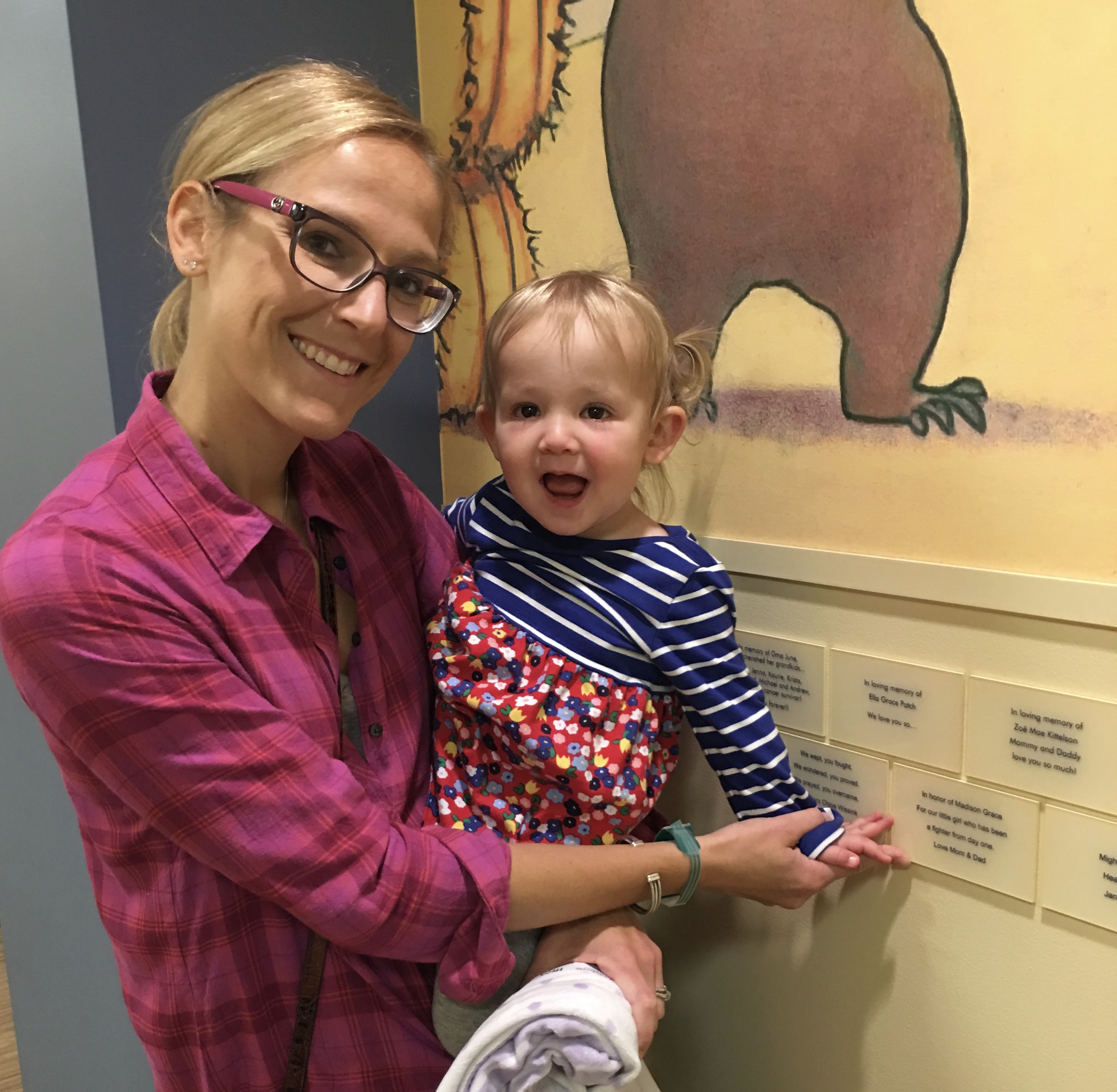 Maddie's Plaque at Children's Hospital