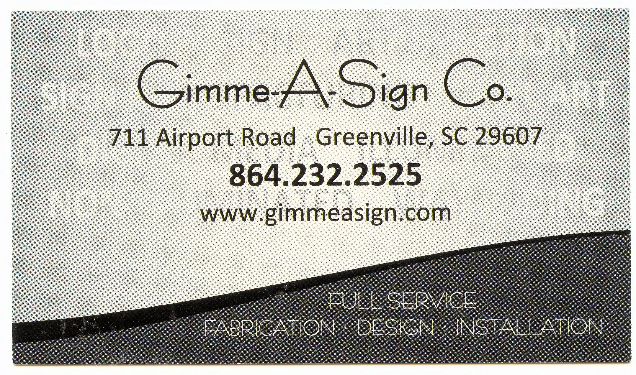 Gimme-A Sign Co.