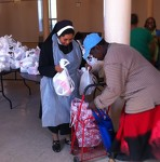 Providing food for the poor