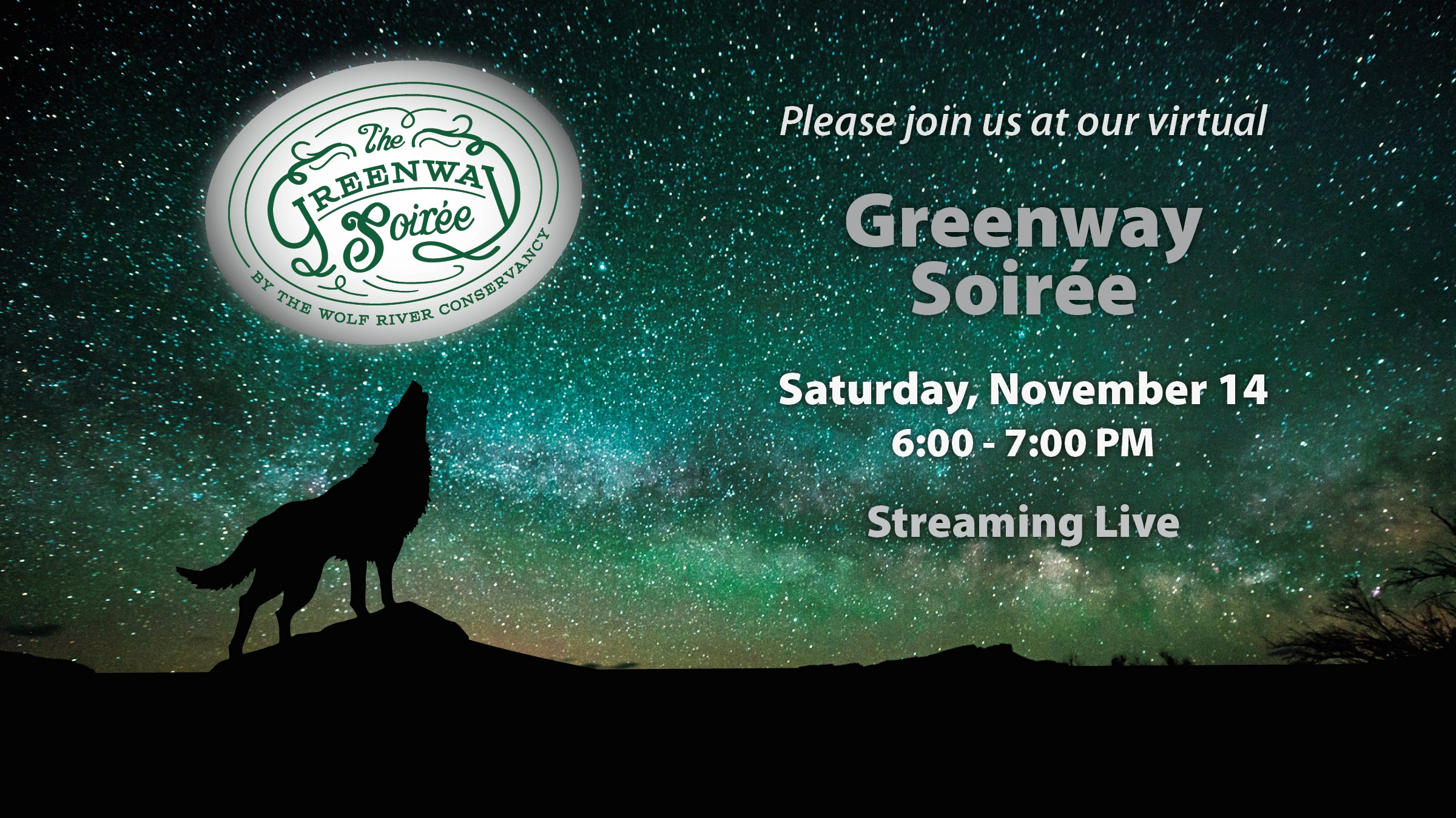 The Virtual Greenway Soirée
