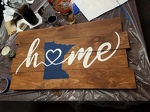 Minnesota Home - pallet sign