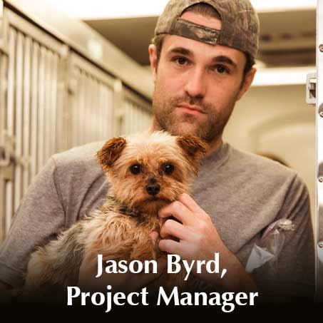 Jason Byrd, Project Manager
