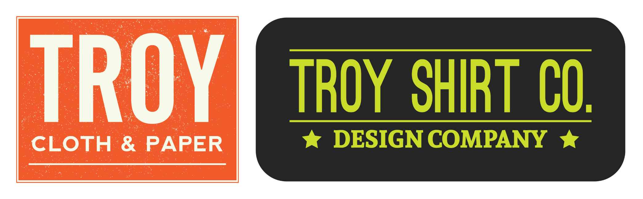 Troy Cloth & Paper | Troy Shirt Co.