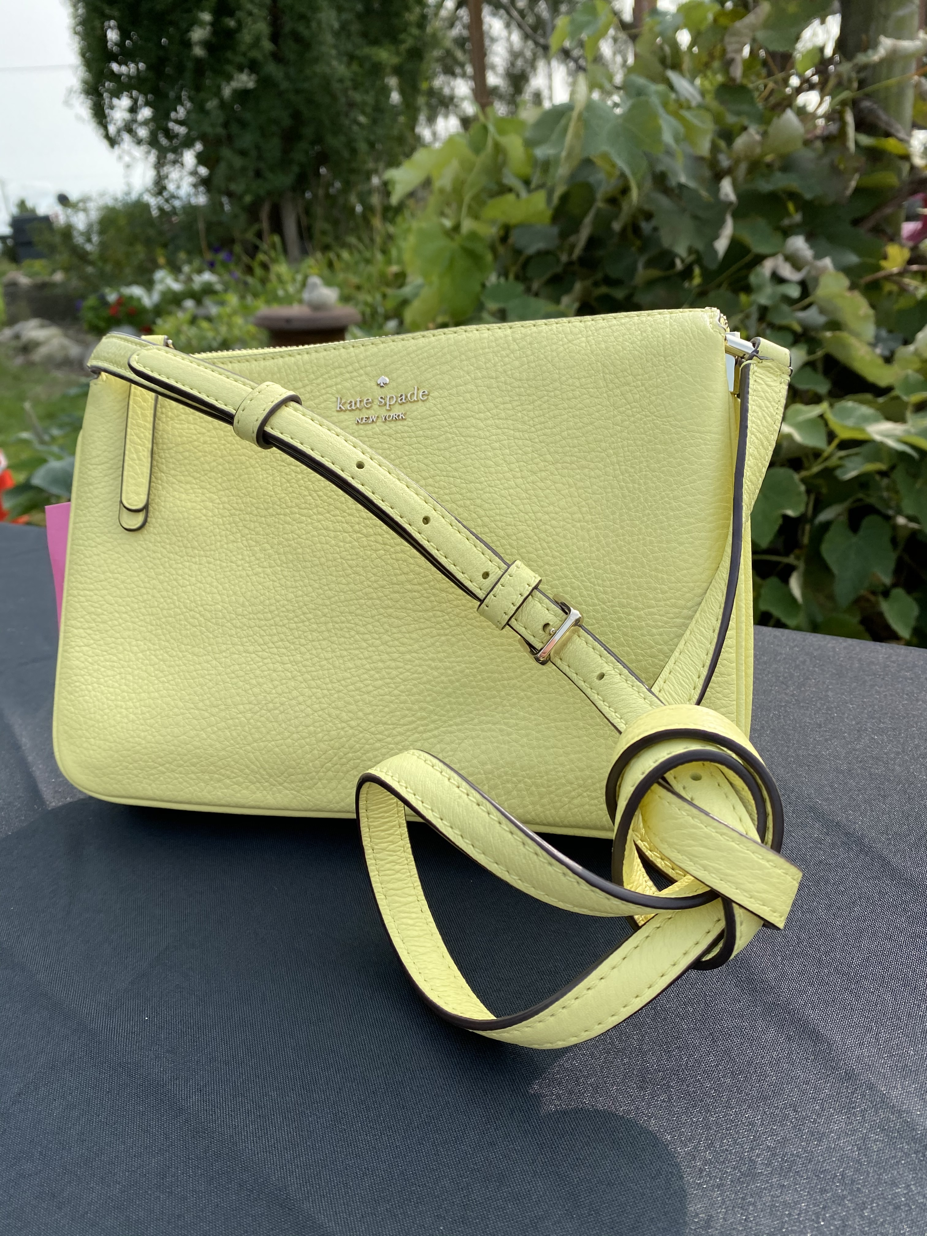 #1 Lemon-Yellow Kate Spade