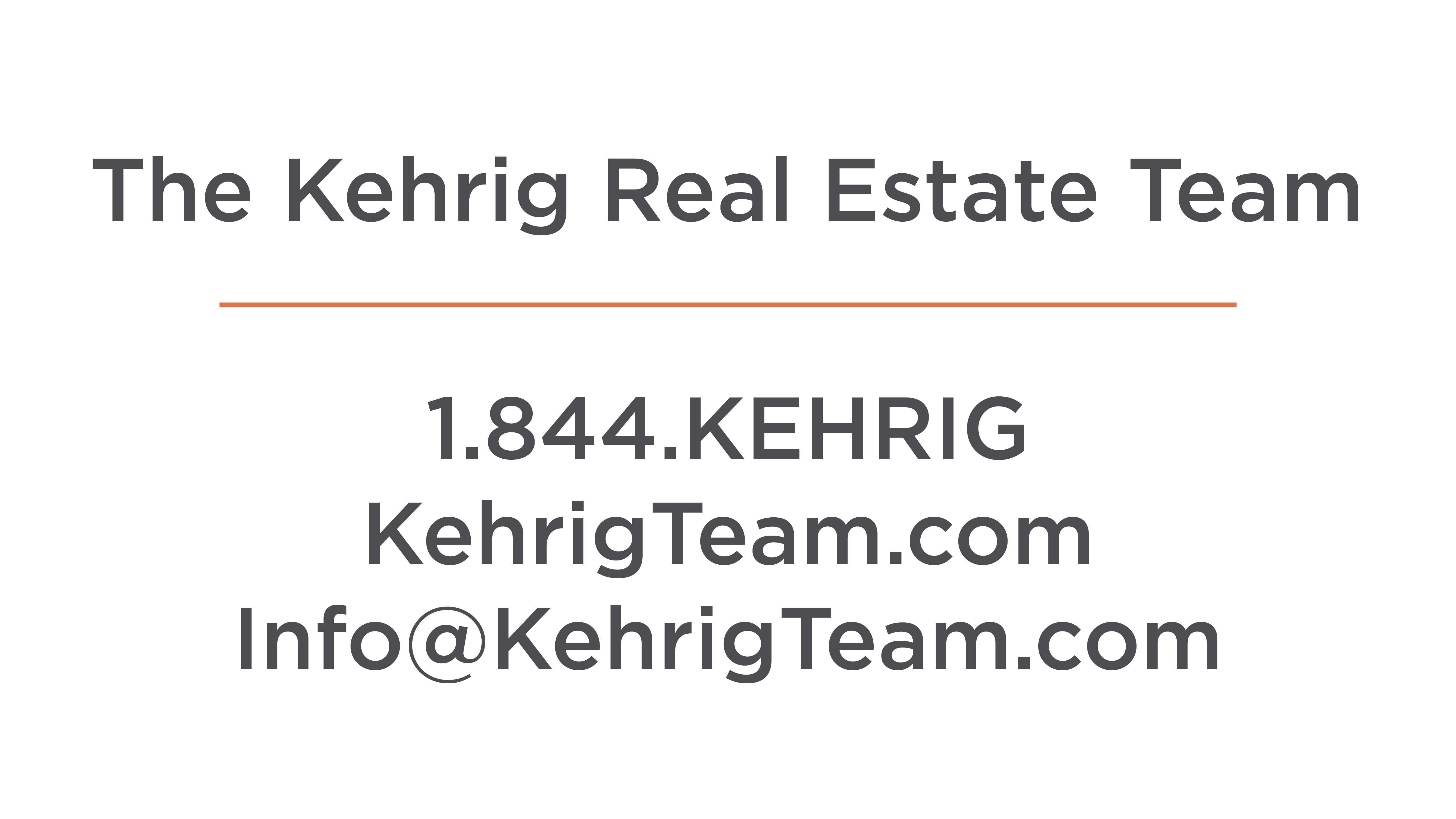 The Kehrig Real Estate Team