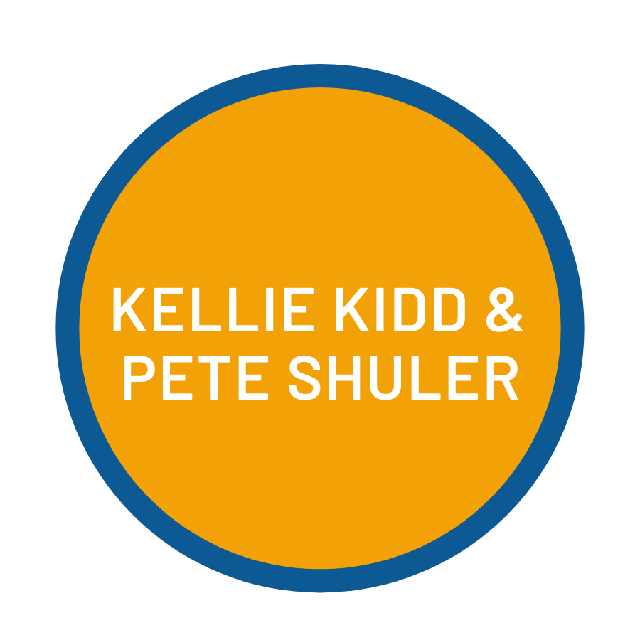 Kellie Kidd and Pete Shuler