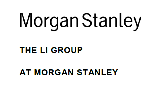 The Li Group at Morgan Stanley