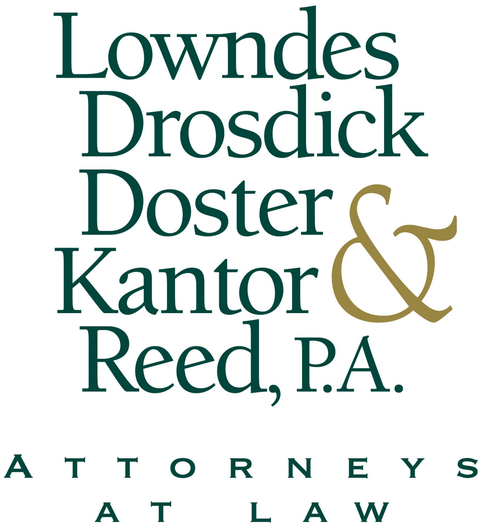 Lowndes, Drosdick, Doster, Kantor & Reed