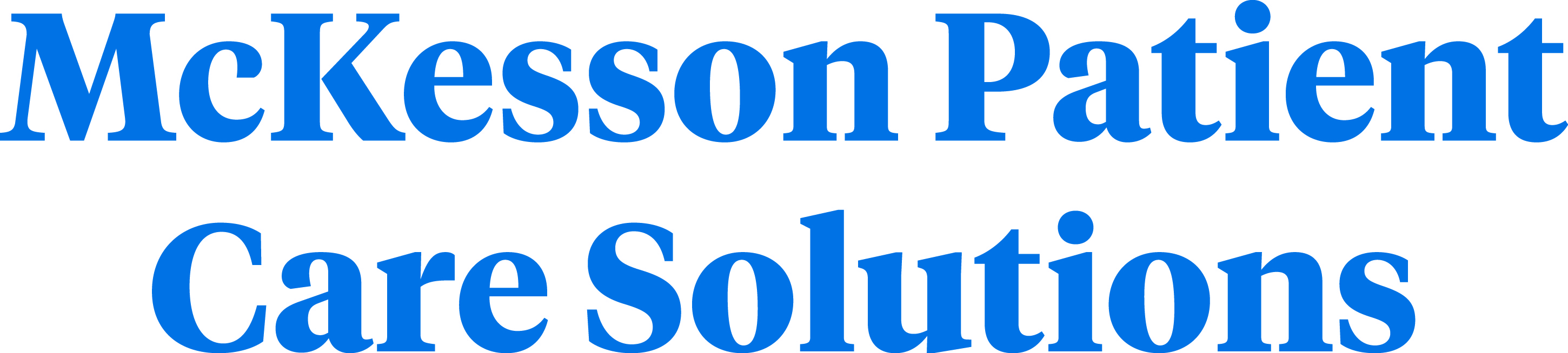 McKesson Patient Care Solutions