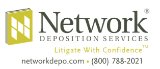 Network Depositions