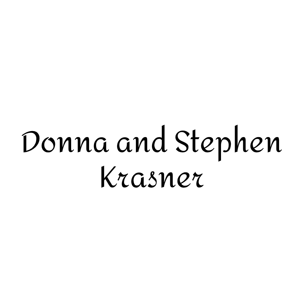 Donna and Stephen Krasner