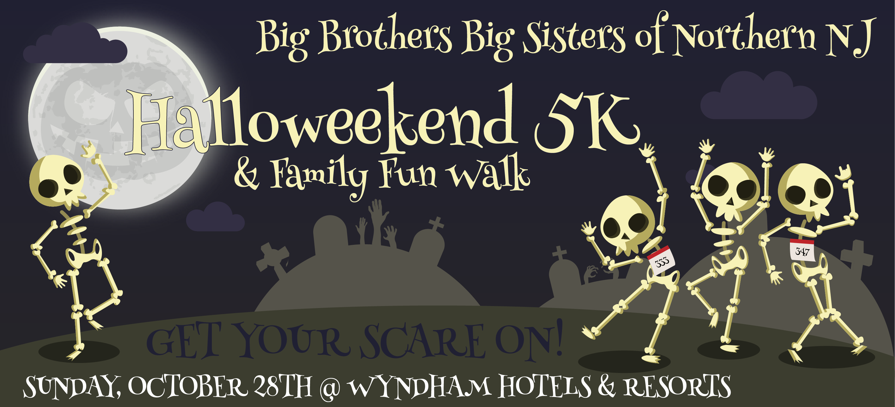 BBBSNNJ Halloweekend 5K
