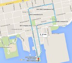 Paws on Palafox Course Map
