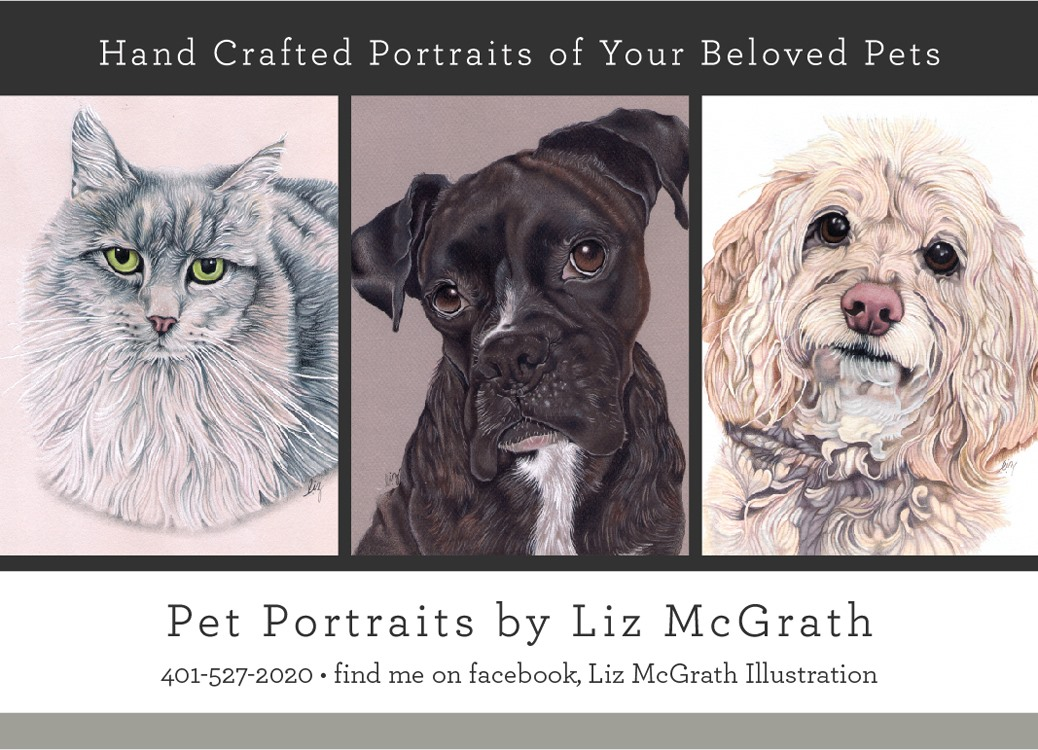 Pet Portraits by Liz McGrath