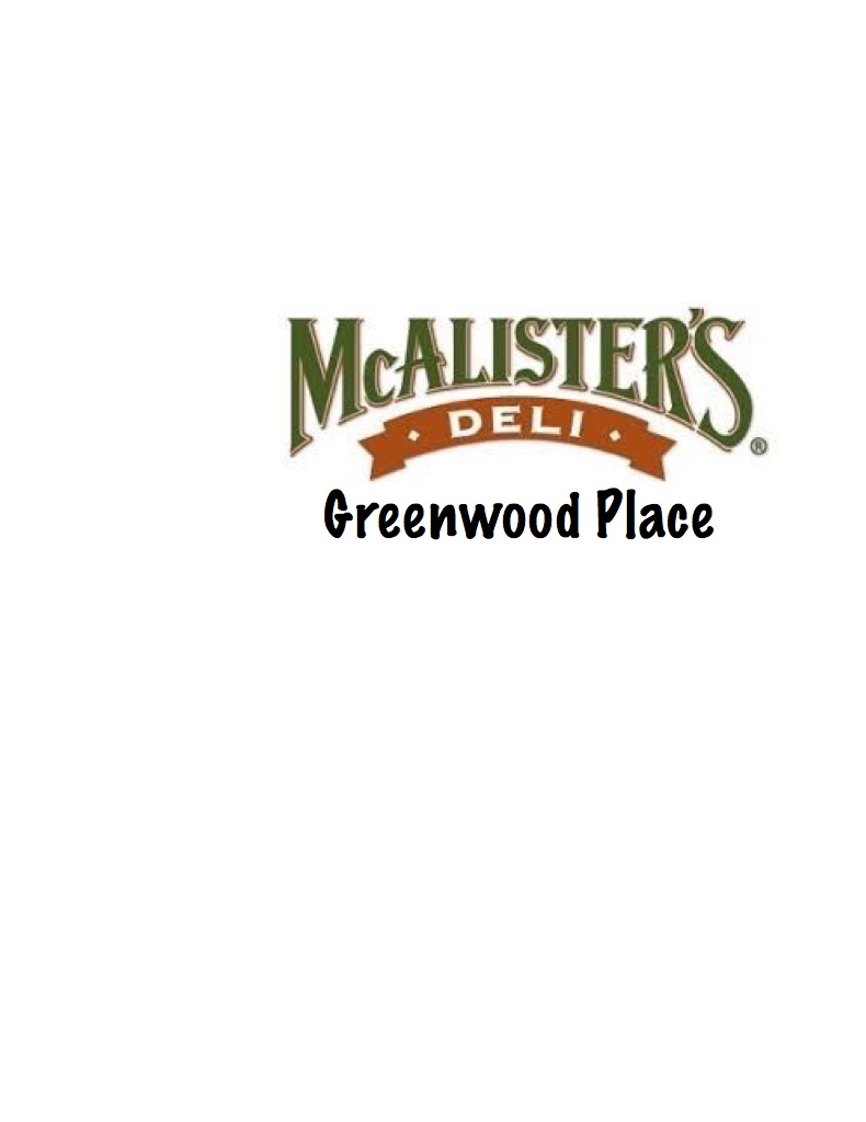 McAlister's Deli-Greenwood Place