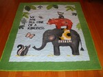 One of a Kindness infant quilt