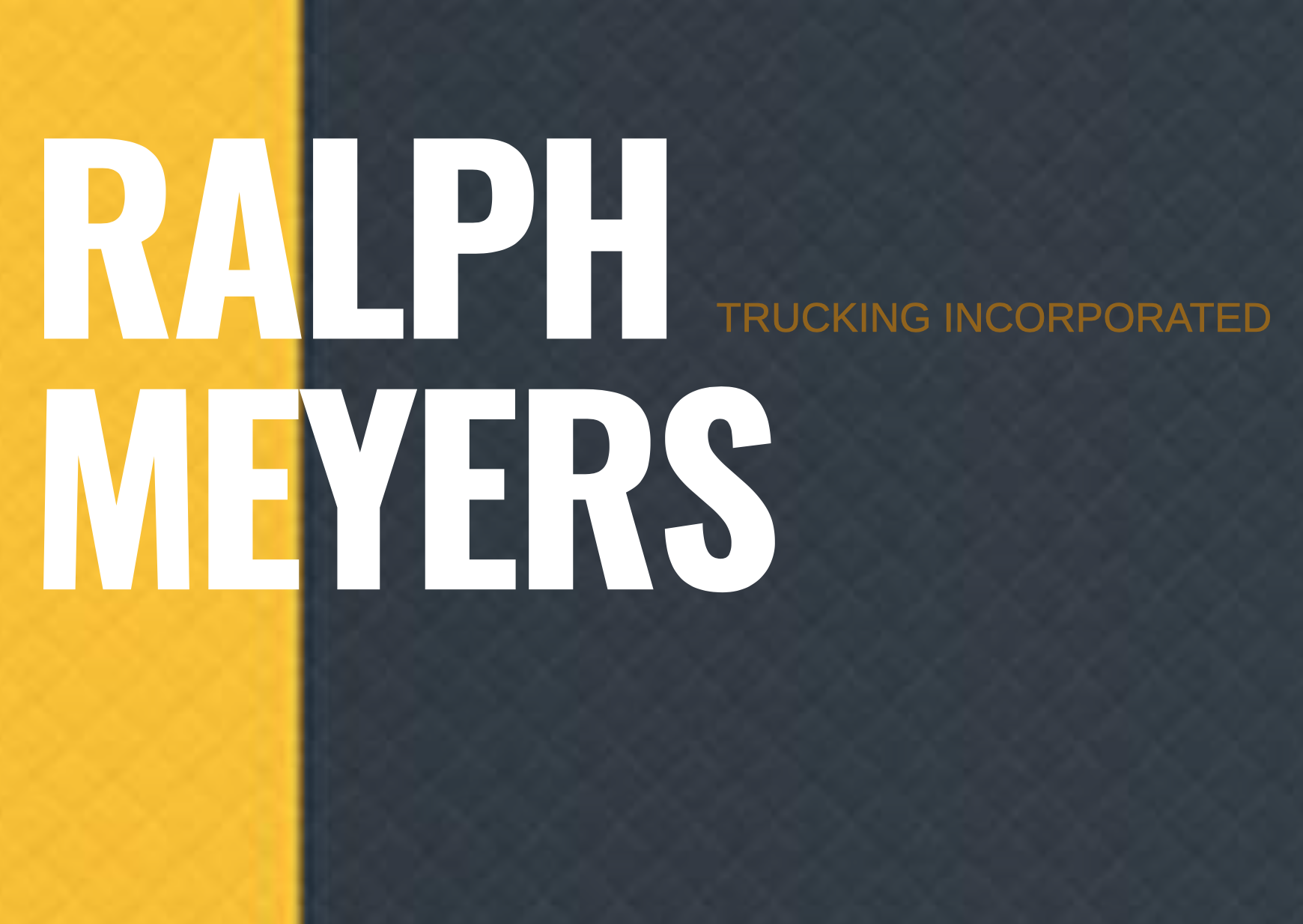 Ralph Meyers Trucking and Excavating