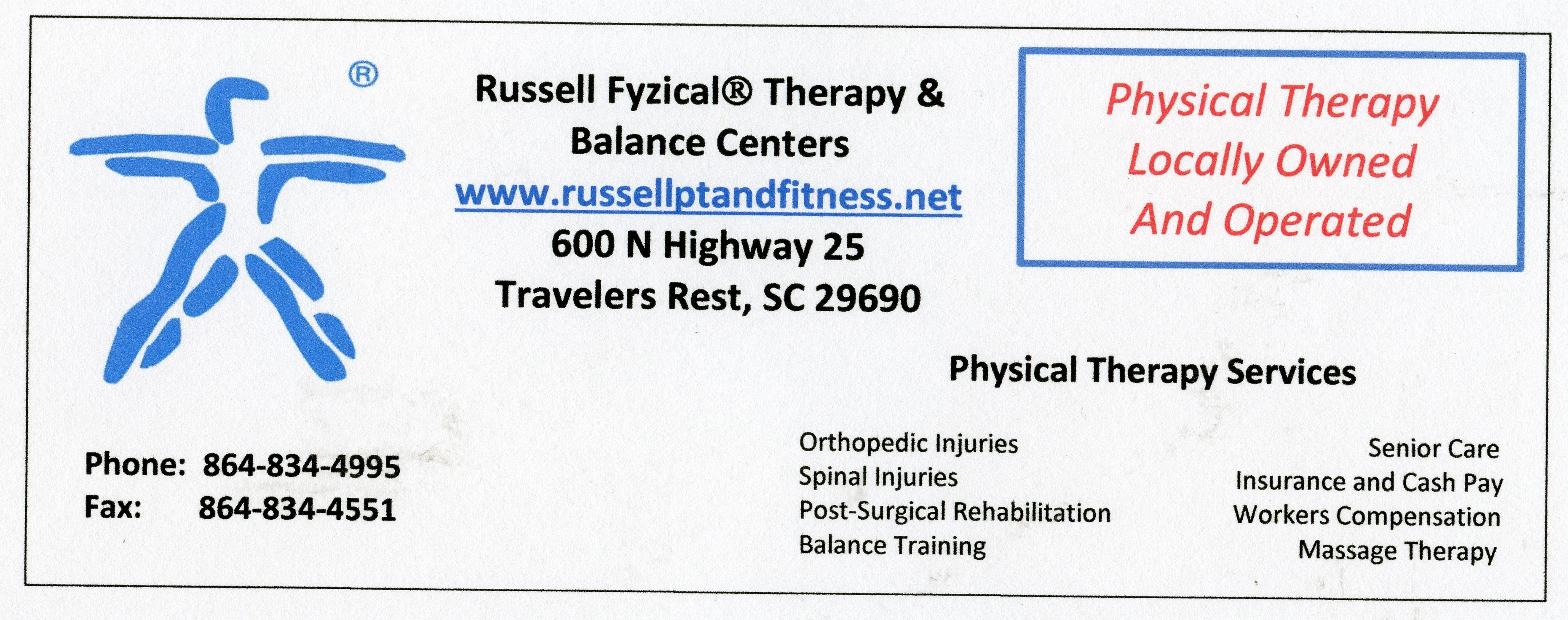 Russell Fysical Therapy