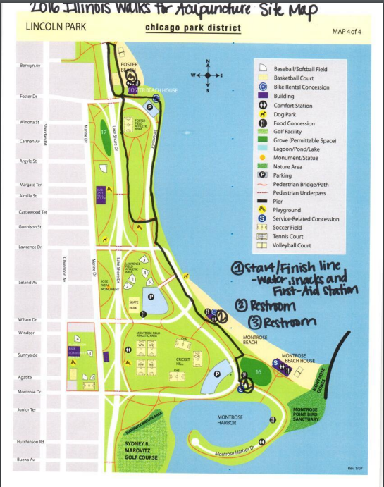 Site Map & Route