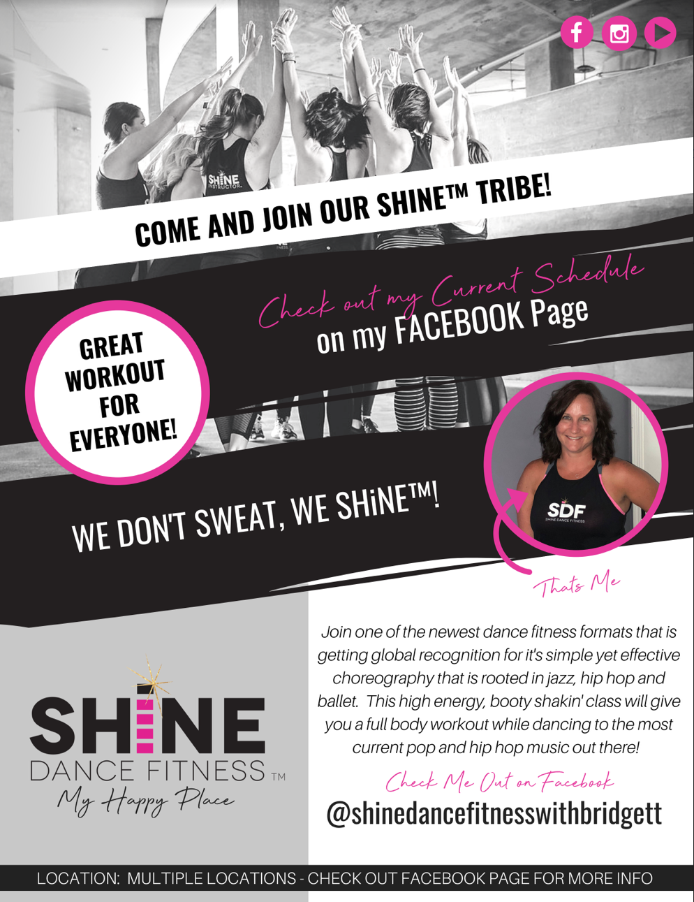 Shine Dance Fitness with Bridgett