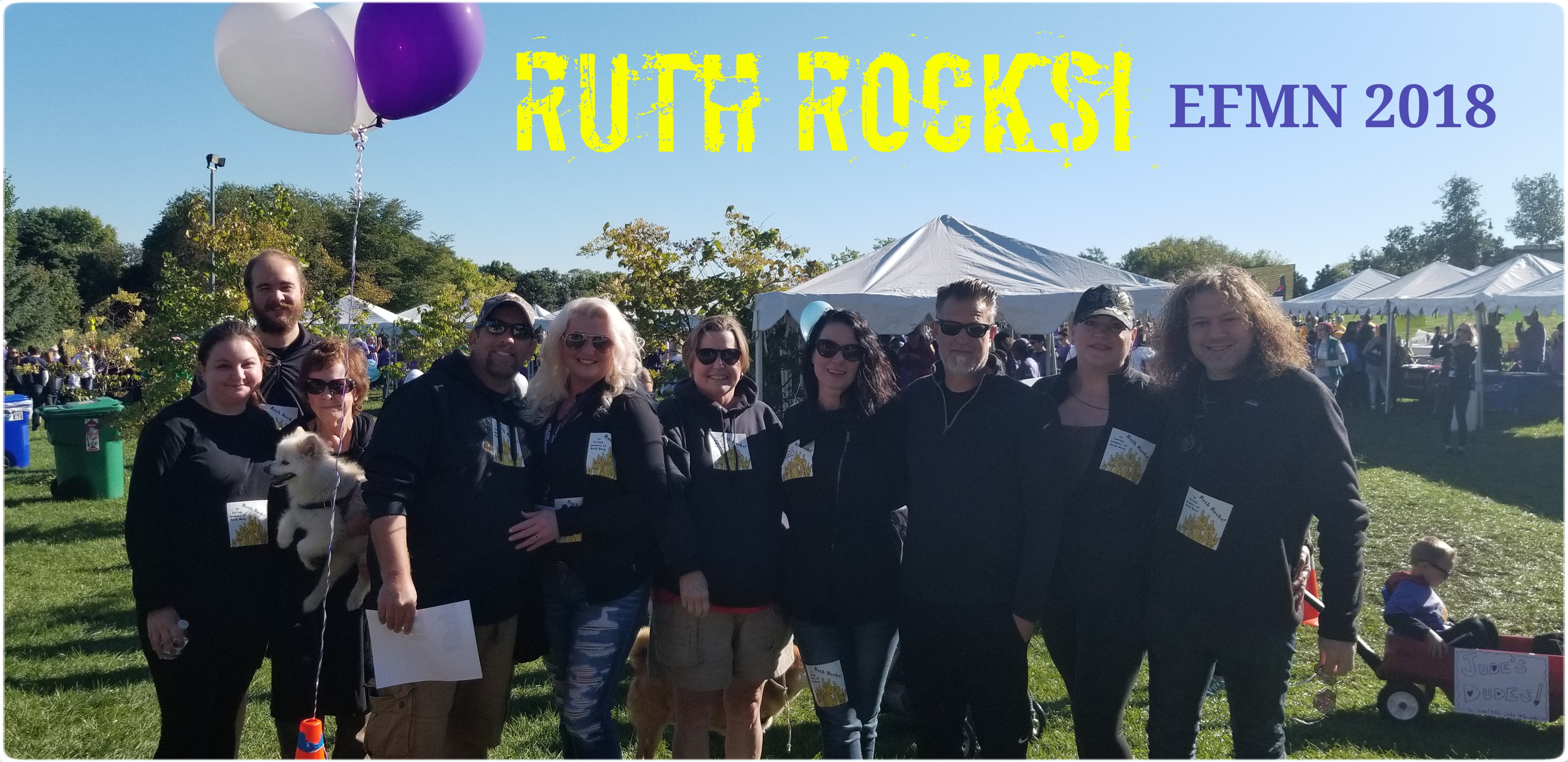 Team Ruth Rocks! 2018