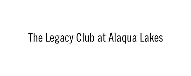 The Legacy Club at Alaqua Lakes