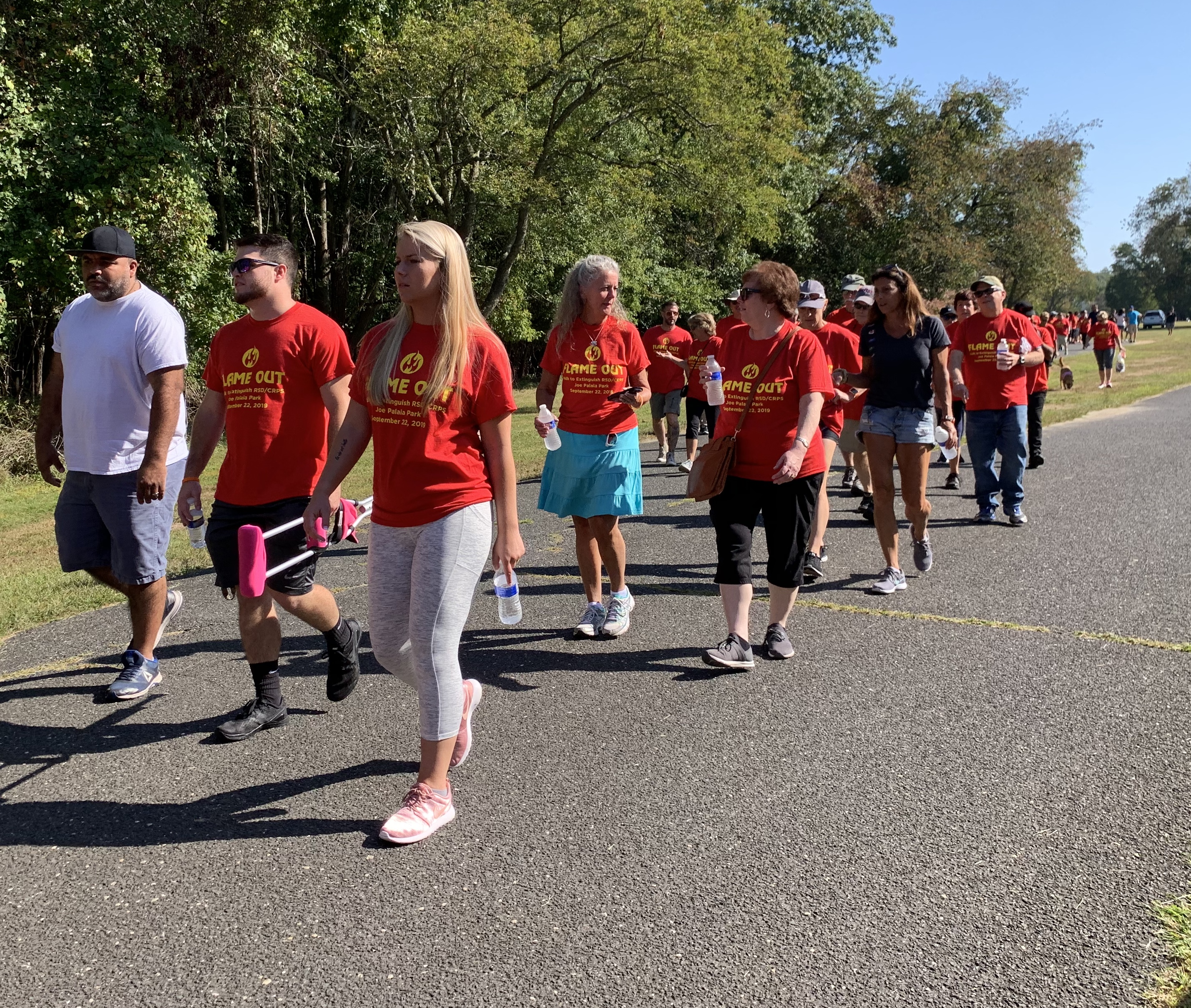 The Inaugural Flame-Out - A Walk to Extinguish RSD/CRPS (2019)