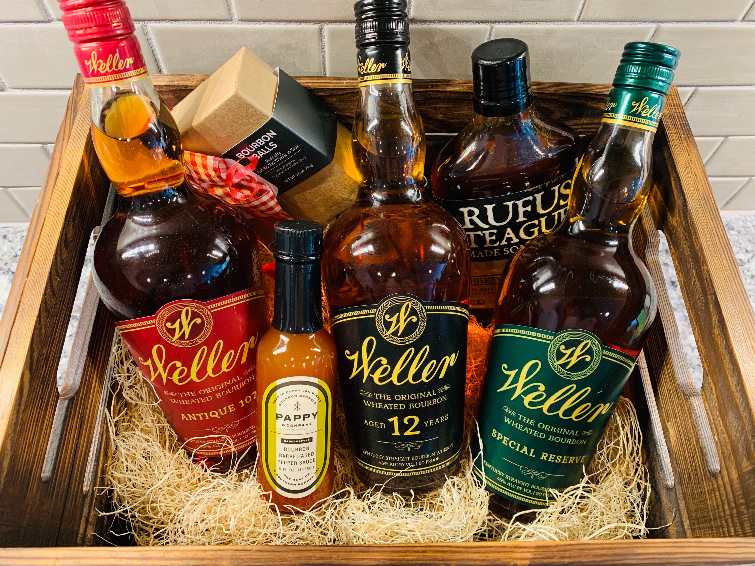 Auction Preview: Weller Bourbon Special Reserve Trio Collection